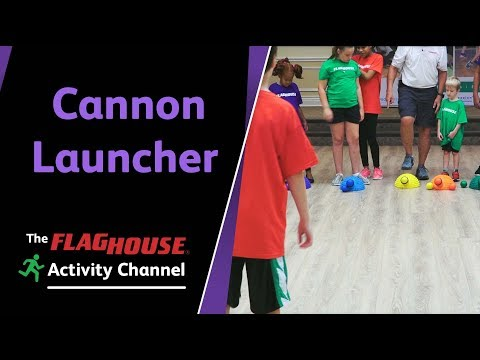 Cannon Launcher   A Phys Ed Activity (Ep. 110 - Cannon Launchers)