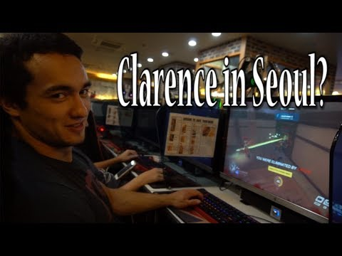 Clarence and Dubhan Lift, Trick and Play Video Games in Seoul