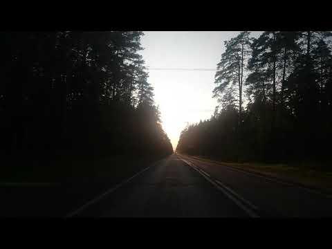 Дорога из леса под Казанью Зелёный бор