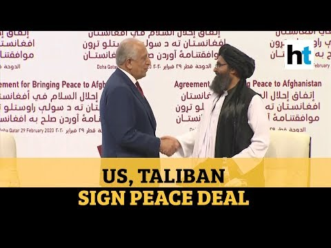 watch:-us,-taliban-sign-peace-deal-aimed-at-ending-war-in-afghanistan