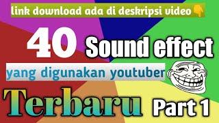 Download SOUND EFFECT LUCU Yang sering di gunakan youtuber terbaru PART 1 - no copyright