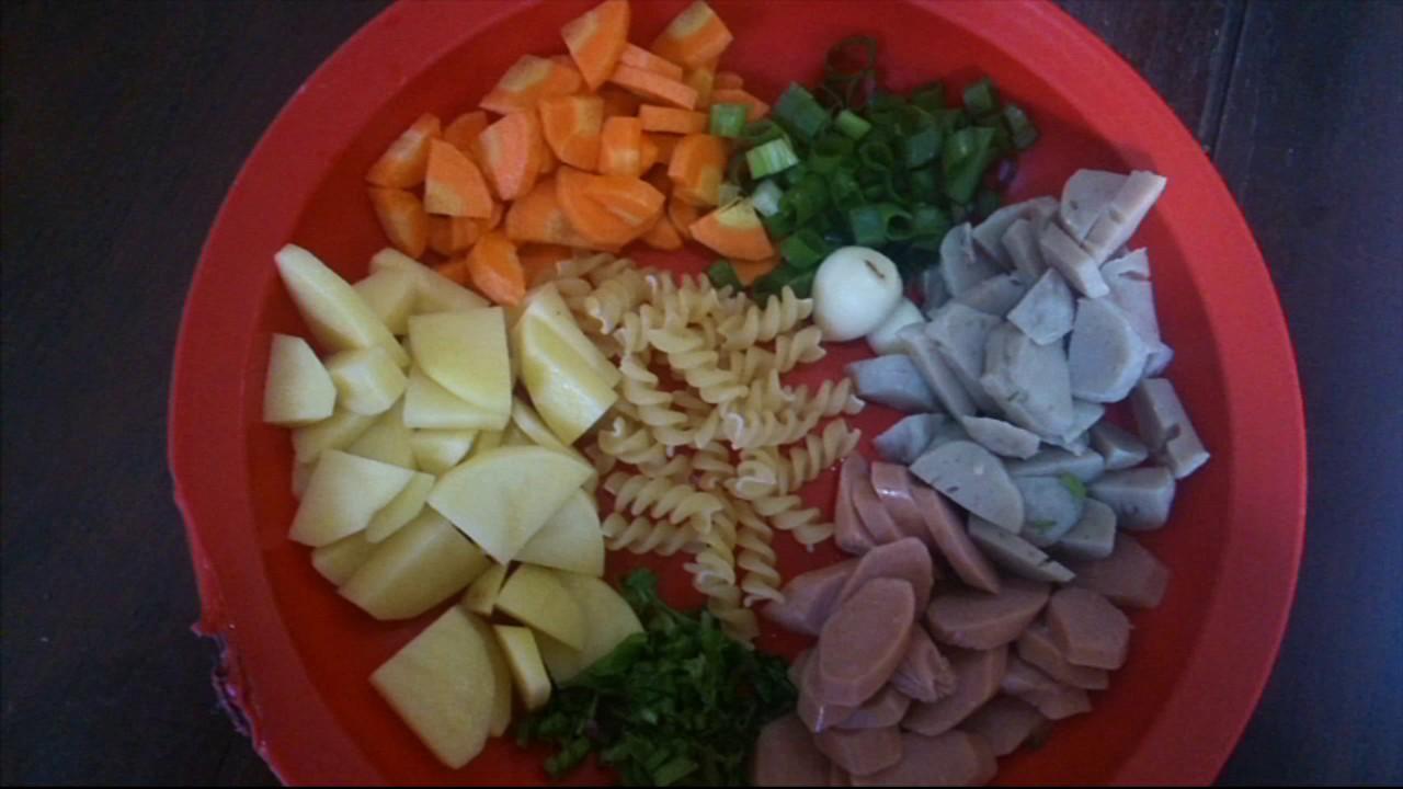 Resep Masakan Anak Membuat Sup Untuk Anak Bergizi Tinggi Youtube