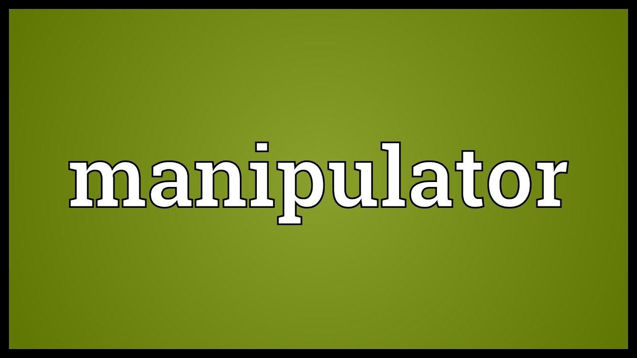 Manipulator Meaning