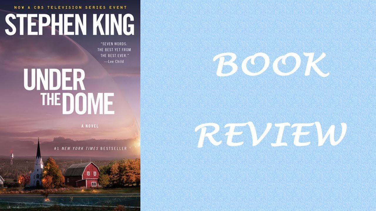 Stephen King Under The Dome Book