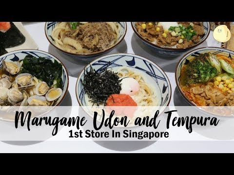 Marugame Udon 丸亀製麺 – Most Popular Udon Shop From Japan Has Arrived In Singapore