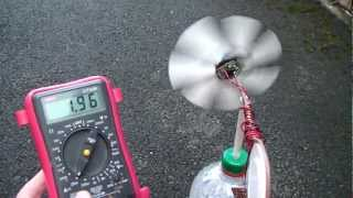 How to: Pico wind turbine generator tutorial.