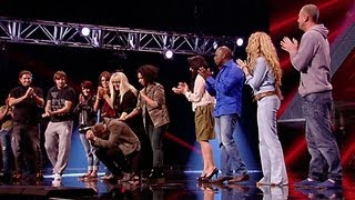 Over 28s Reveal - The X Factor UK 2012
