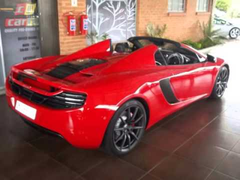 2014 MCLAREN MP4 12C SPYDER Auto For Sale On Auto Trader South Africa