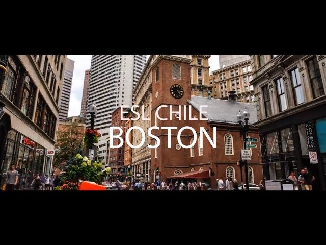 Aprende inglés en EC English languages centres, Boston | Escuelas - ESL Chile