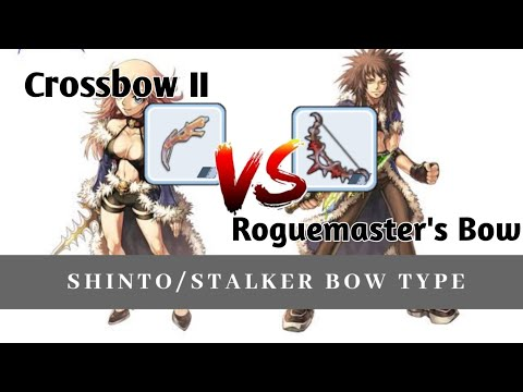 Roguemaster's bow VS Cross bow / Mystic Bow, Stalker, Shinto Bow type build Ragnarok Mobile