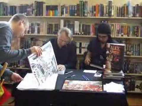 Comics creator Bryan Talbot signing at Forbidden Planet