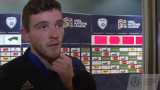 REACTION | Andy Robertson | Israel 2 - 1 Scotland