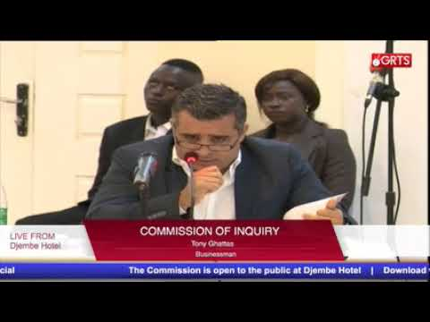 Commission of inquiry 17TH OCT PART 2
