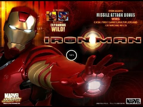 Iron man online slot with low bets