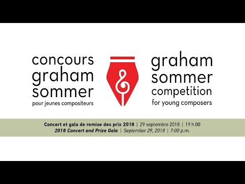Graham Sommer Competition For Young Composers 2018-2019