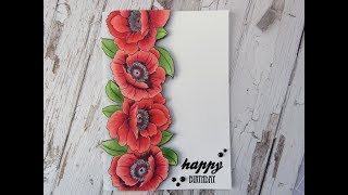 Poppies with Copics