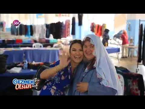 """360 TV """"Gezmek Olsun"""" Başakşehir Hanımeli pazarında"""