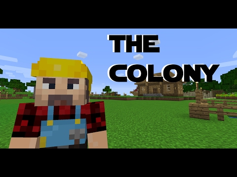 Minecraft Minecolonies 1.10 -The Colony ep 1 - Getting Started - Builder's Hut and Town Hall