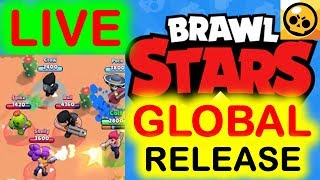 Brawl Stars Global Release Update! Live Gameplay! New Supercell Game!