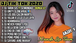 Dj Tik Tok Terbaru 2020 Dj Tarik Sis Semongko Bunga Full Album Remix 2020 Full Bass Viral Enak