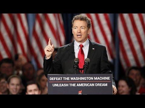 Republican Rand Paul launches 2016 bid for the White House