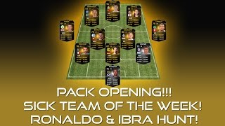 PACK OPENING! - RONALDO & IBRA HUNT! Thumbnail