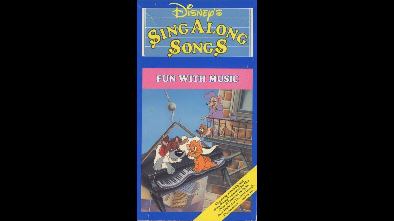 opening and closing to disney 39 s sing along songs fun with music 1989 vhs youtube. Black Bedroom Furniture Sets. Home Design Ideas