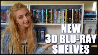 NEW 3D BLU-RAY SHELVES!
