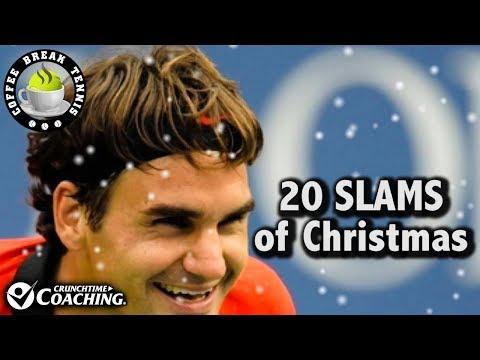 20 Slams of Christmas: Coffee Break Tennis
