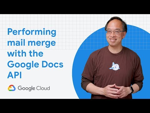 Performing Mail Merge With The Google Docs API