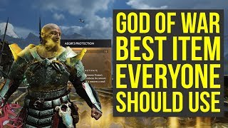 God of War Best Talisman YOU NEED TO GET Gives Health & More (God of War Best Armor - God of War 4)