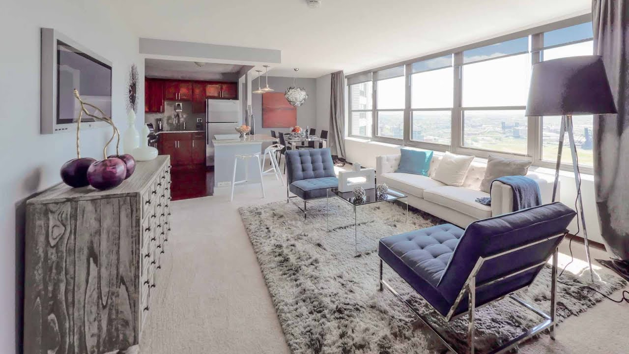 Tour A Large One Bedroom Model At The Full Amenity 1130 South Michigan Youtube