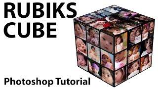 Photoshop - Create A Rubik's Cube Photo Frame