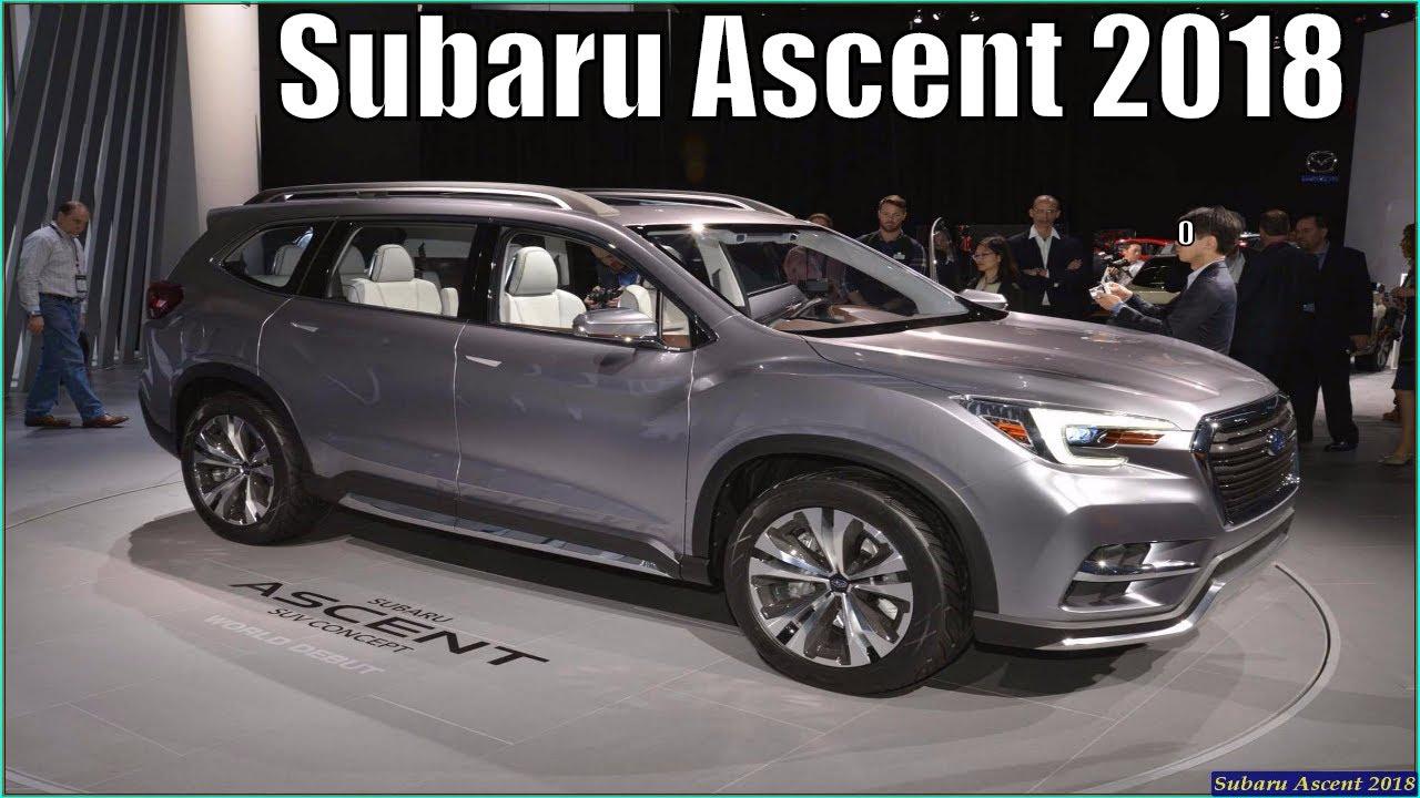 New Subaru Ascent 2018 Suv Concept 2017