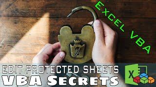 How to Edit a Protected Worksheet with VBA, UserInterfaceOnly Lesson