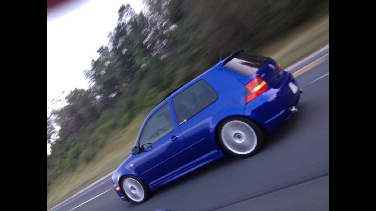 2004 Vw Golf R32 Sound driving City highway  YouTube