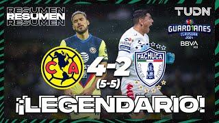 Resumen y goles   América 4(5)-(5)2 Pachuca   Torneo Guard1anes 2021 BBVA MX 4tos Vuelta   TUDN