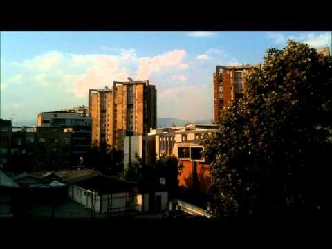 Skopje Sunset (Time Lapse)