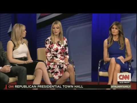 Donald Trump's family - INTERVIEW CNN - Town Hall 4/12/16