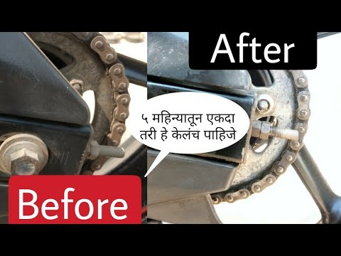 How to clean motorcycle chain? Yamaha fzs, yamaha byson, fz16