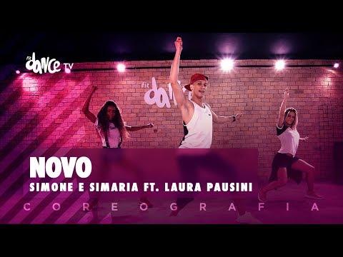 Novo -  Laura Pausini ft Simone e Simaria  FitDance TV Coreografia Dance