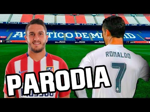 Thumbnail: Canción Atletico Madrid vs Real Madrid 0-3 (Parodia Shakira - Chantaje ft Maluma) 2016/2017