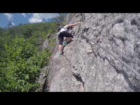 Kaitlyn Climbing Nelson Rocks