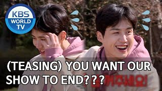 (Teasing Seonho) You want our show to end??? [2 Days & 1 Night Season 4/ENG/2020.04.05]