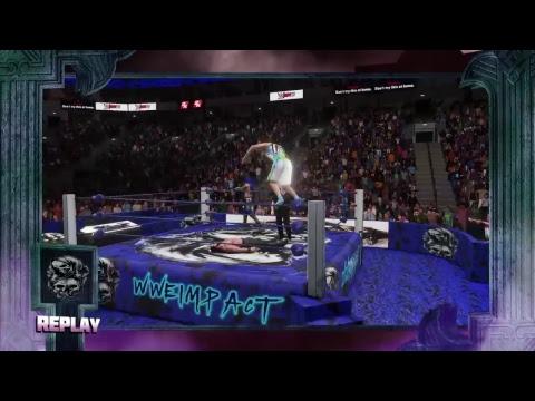 WWE 2k18 Pretty Boy Kliq vs The colons and Dean Ambrose and Seth Rollins