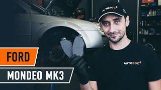FORD MONDEO MK3 Sedan elülső fékbetét csere [ÚTMUTATÓ AUTODOC]