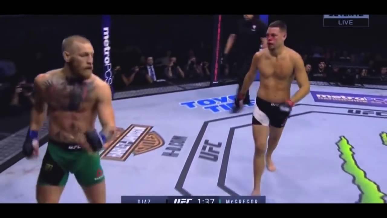 Конор макгрегор Vs Нейт Диаз Реванш UFC2016 Лучшие моменты CONOR MCGREGOR Vs Nate Diaz !!
