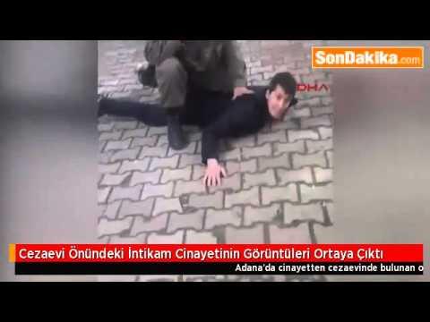 Cezaevi Önünde İntikam Cinayeti İşleyen Zanlıyı, Asker Yakaladı.mp4