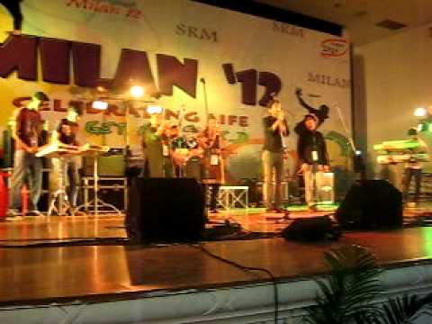 PYROS of Kalasalingam university rocking in SRM milan