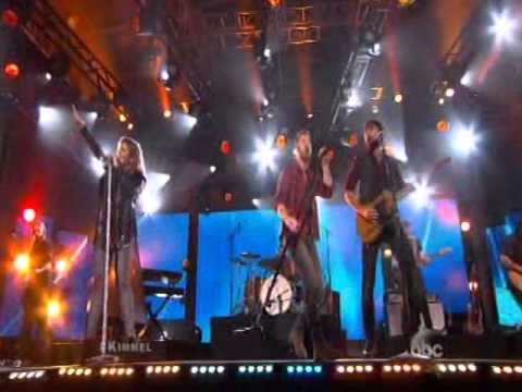 Jimmy Kimmel Live Performance By 747 lady antebellum - Free Style